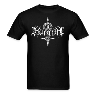 T-Shirts ~ Men's T-Shirt ~ Helgardh Crucifix Logo Men's T