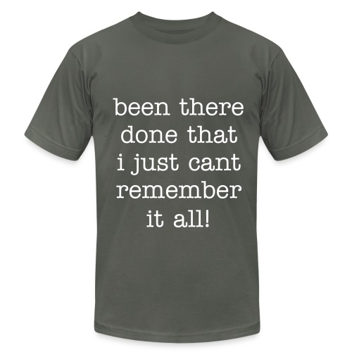 been there - Men's  Jersey T-Shirt