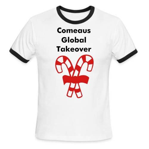 comeaus global takovr - Men's Ringer T-Shirt