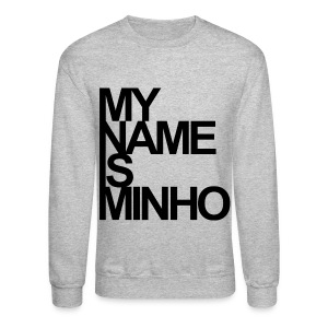 [SHINee] My Name Is Minho - Crewneck Sweatshirt