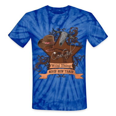CowGirl Wild Thing never been tamed T-Shirts