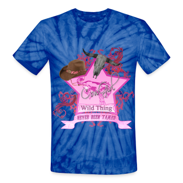 CowGirl Wild Thing never been tamed PinkFull T-Shirts