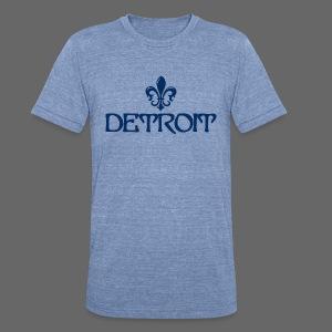 Fleur de lis Detroit - Unisex Tri-Blend T-Shirt