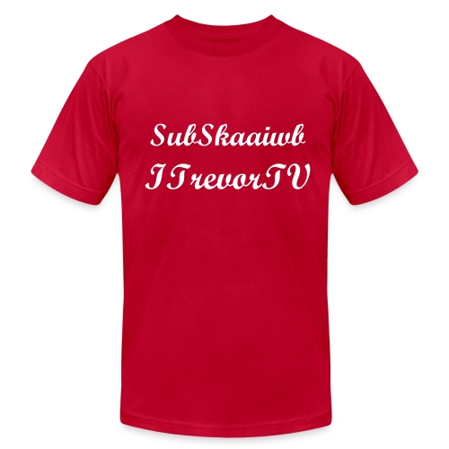 Subkwaaid t-shirt with credits to madouc for subskaaiwd - Men's Fine Jersey T-Shirt