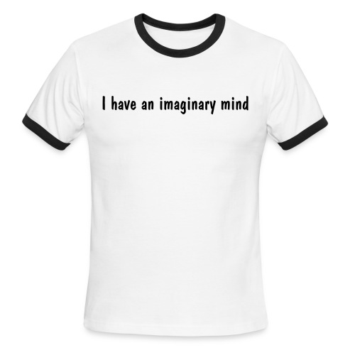 imaginary mind tee - Men's Ringer T-Shirt