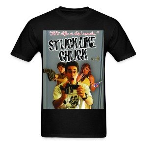 Stuck Like Chuck Poster - Men's T-Shirt