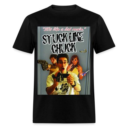 Stuck Like Chuck Poster - Men's T-Shirt