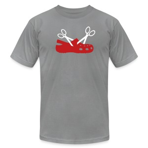 New Scissor Croc Basic Tee - Men's T-Shirt by American Apparel