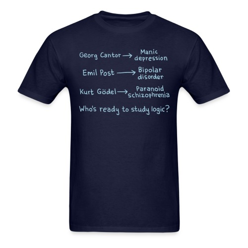 Logicians - Men's T-Shirt