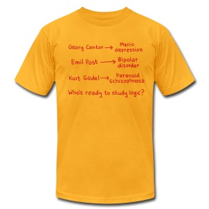 Logicians - Men's T-Shirt by American Apparel