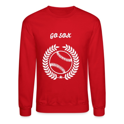 Lets Go Red Sox - Crewneck Sweatshirt