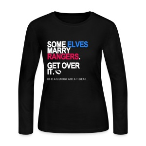 Some Elves Marry Rangers Long Sleeve - Women's Long Sleeve Jersey T-Shirt