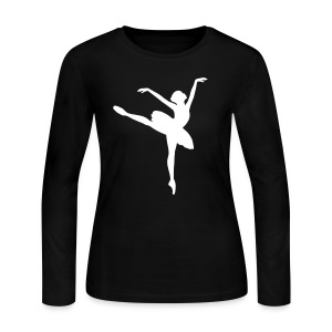 Ballet Dancer Long Sleeve Shirts - Women's Long Sleeve Jersey T-Shirt