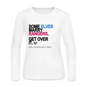 Some Elves Marry Rangers Long Sleeve White - Women's Long Sleeve Jersey T-Shirt