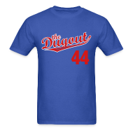 T-Shirts ~ Men's T-Shirt ~ F4rnsw0rth #44 (Kyle Farnsworth) Cubs Dugout T