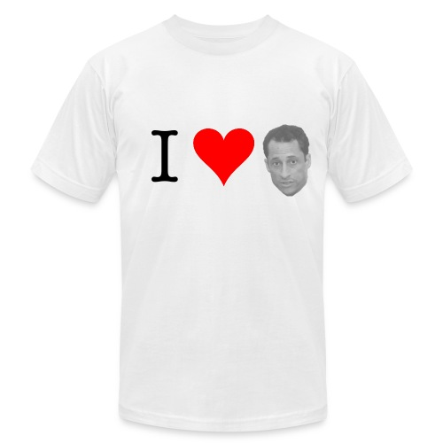I Heart Weiner - Men's  Jersey T-Shirt