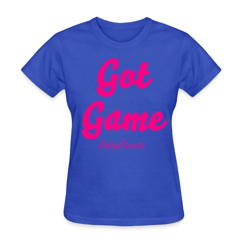 ''Got Game'' - Neon pink - Women's T-Shirt