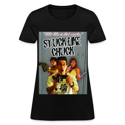 Stuck Like Chuck Poster - Women's T-Shirt