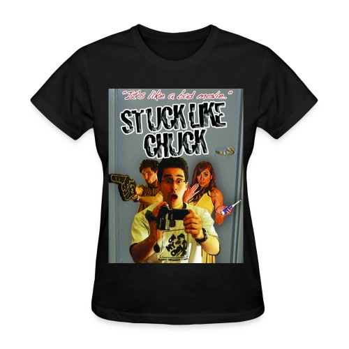Stuck Like Chuck Poster - Women's T-Shirt