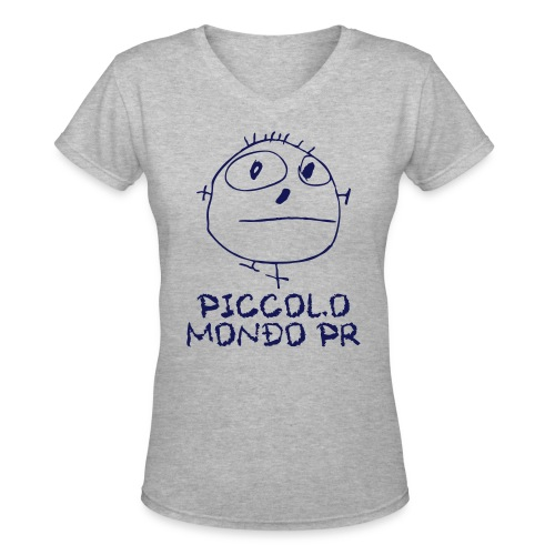 Piccolo Woman 3 - Women's V-Neck T-Shirt