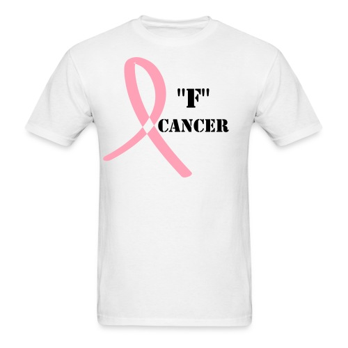F Cancer - Men's T-Shirt