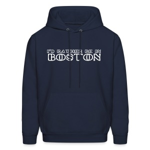 I'd Rather Be In Boston - Men's Hoodie