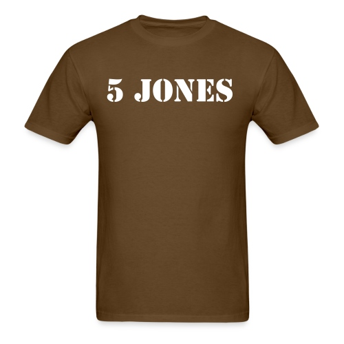 5 Jones - Men's T-Shirt