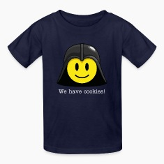 Darth Smiley Icon (dd print) Kids' Shirts
