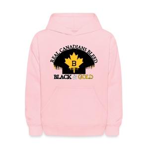 Real Canadians... - Kids' Hoodie