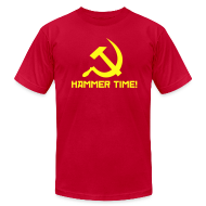 T-Shirts ~ Men's T-Shirt by American Apparel ~ Hammer Time! [M]