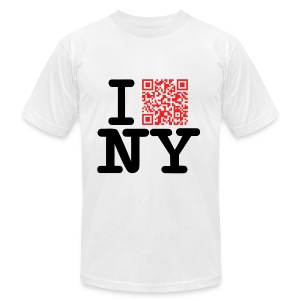 I love NY (Dirty version) - Men's T-Shirt by American Apparel