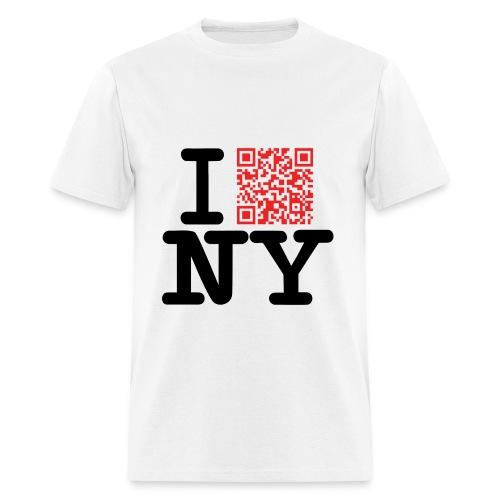 I love NY (Dirty version) - Men's T-Shirt