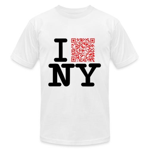 I love NY (Clean version) - Men's Fine Jersey T-Shirt