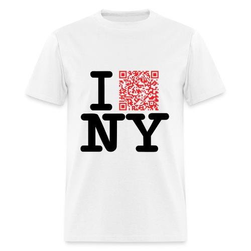 I love NY (Clean version) - Men's T-Shirt
