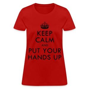[2PM] Keep Calm & Put Your Hands Up - Women's T-Shirt