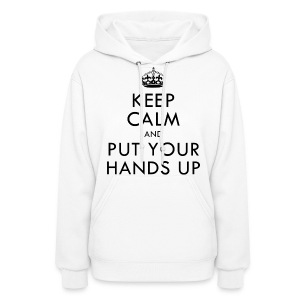[2PM] Keep Calm & Put Your Hands Up - Women's Hoodie
