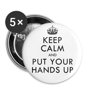 [2PM] Keep Calm & Put Your Hands Up - Large Buttons