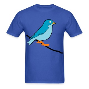 Blue Birdy - Men's T-Shirt