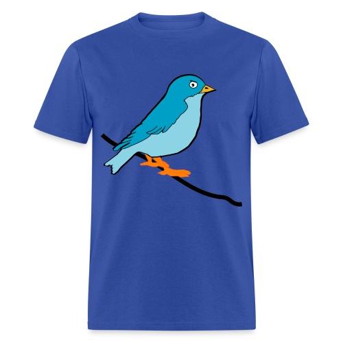 Blue Birdy - Men's T-Shirt