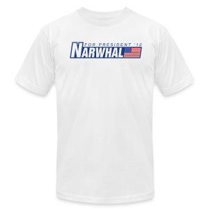 Narwhal 4 President - Men's Fine Jersey T-Shirt