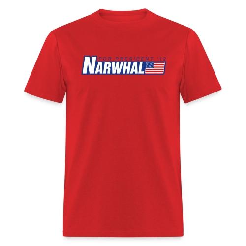 Narwhal 4 President - Men's T-Shirt