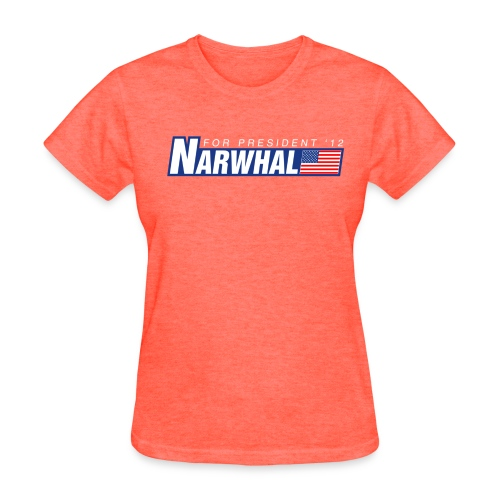 Narwhal 4 President - Women's T-Shirt