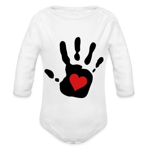 Gimme Five - Organic Long Sleeve Baby Bodysuit
