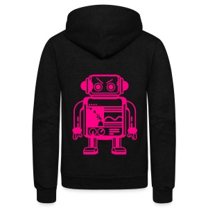 (Hawaiian) Her Name Is Yoshimi - Unisex Fleece Zip Hoodie by American Apparel