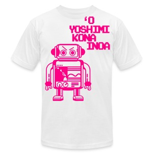 (Hawaiian) Her Name Is Yoshimi - Men's T-Shirt by American Apparel
