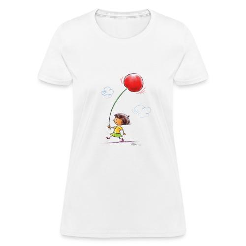 A Cherry Tee for Charity (Balloon Cherry) - Women's T-Shirt