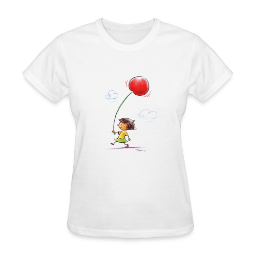 A Cherry Tee for Charity (Balloon Cherry) - Women's T-Shirt