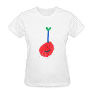 T-Shirts ~ Women's T-Shirt ~ A Cherry Tee for Charity (Freaky Stem Cherry)