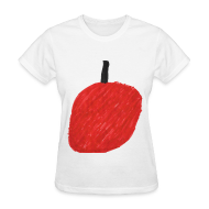 T-Shirts ~ Women's T-Shirt ~ A Cherry Tee for Charity (Big Red Cherry)
