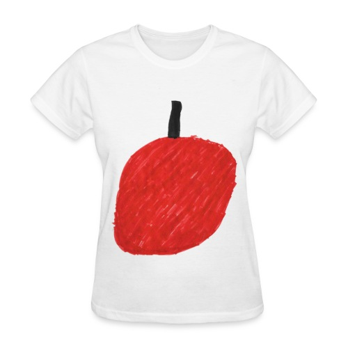 A Cherry Tee for Charity (Big Red Cherry) - Women's T-Shirt